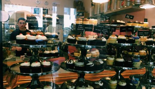 【Georgetown Cupcake】カワイイ!雑誌にも紹介される大人気カップケーキ屋さん